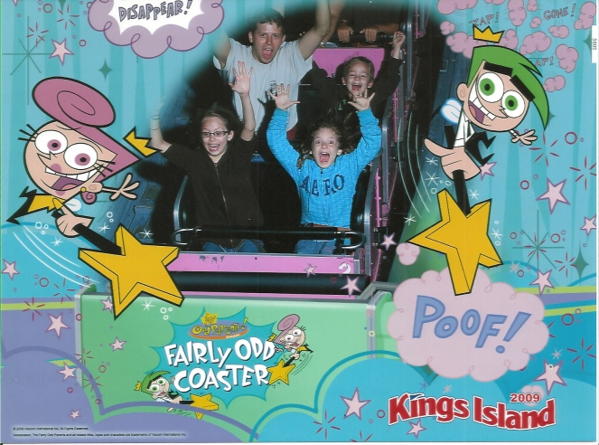 KING'S ISLAND ODD COASTER PHOTO