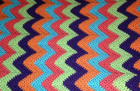 Shaded Blanket (Crochet)