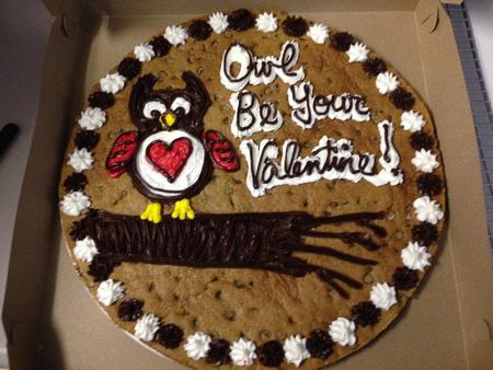 Ronald's Valentine Cake