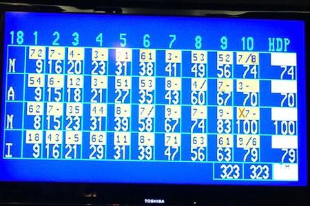 glow bowling 7