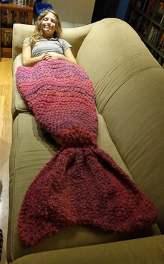 Mermaid Tail Blanket 7