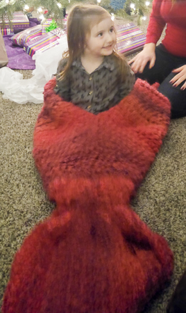 Mermaid Tail Blanket 8