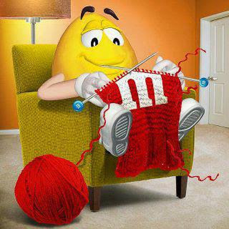m&m knitting