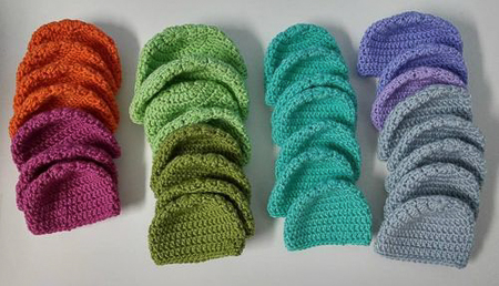More Newborn Hats for Charity