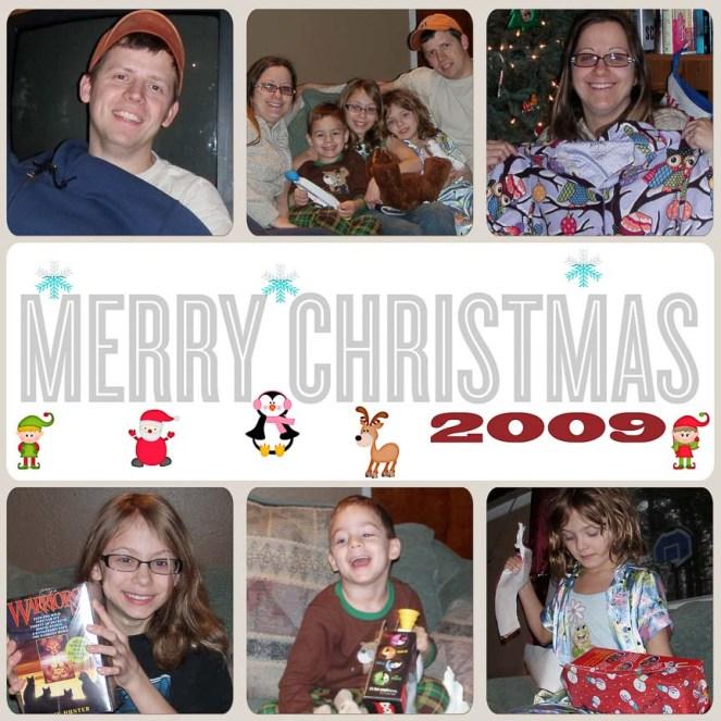 Christmas 2009 LEFT