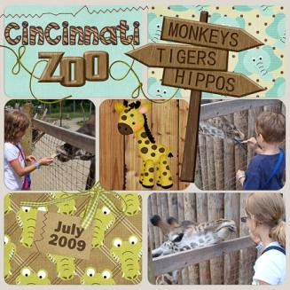 Cincinnati Zoo 2009 LEFT