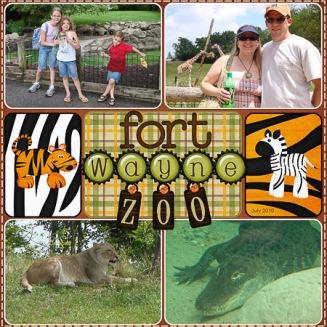 Fort Wayne Zoo LEFT (July 2010)