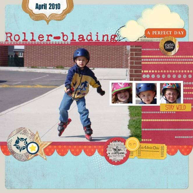 Rollerblading APR 2010 (Aidan)