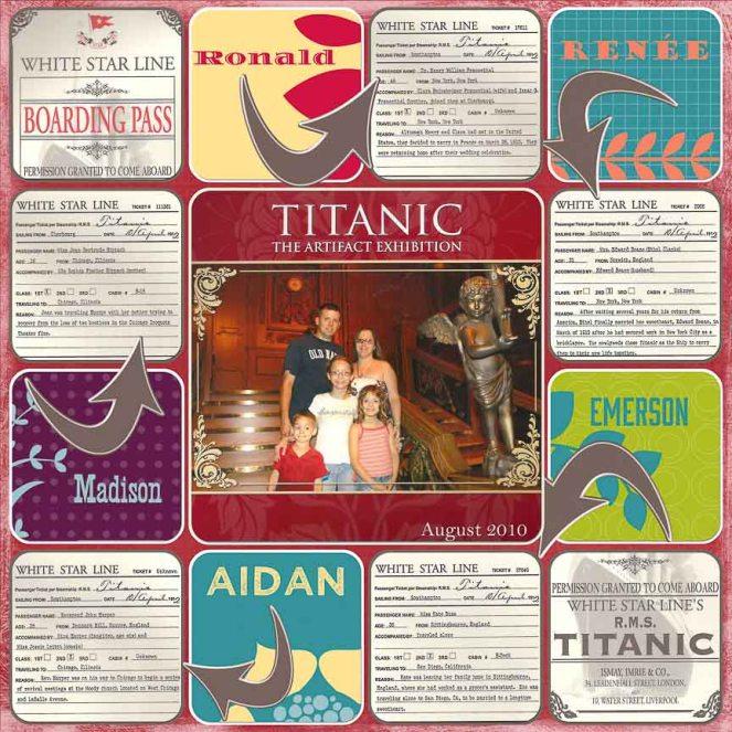 Titanic (August 2010)