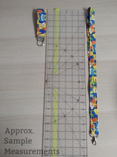 Lanyard & Key Fob Measurements
