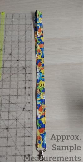 Lanyard Measurements